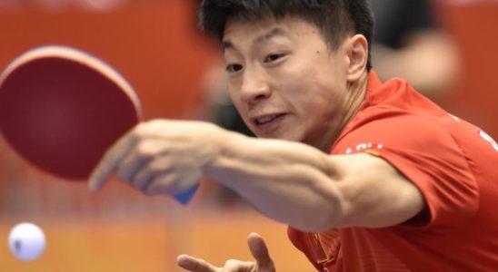 Un joueur chinois de Tennis de Table